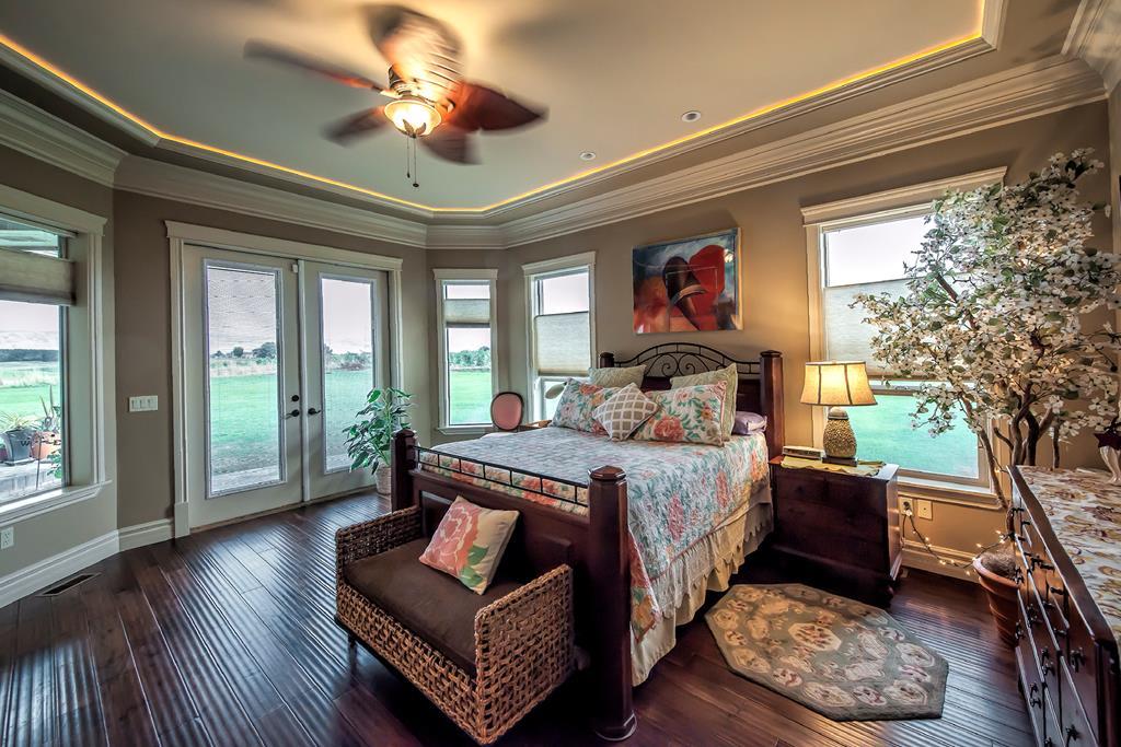 master bedroom from walk in closet