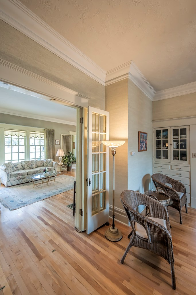French Doors To Dining Rm