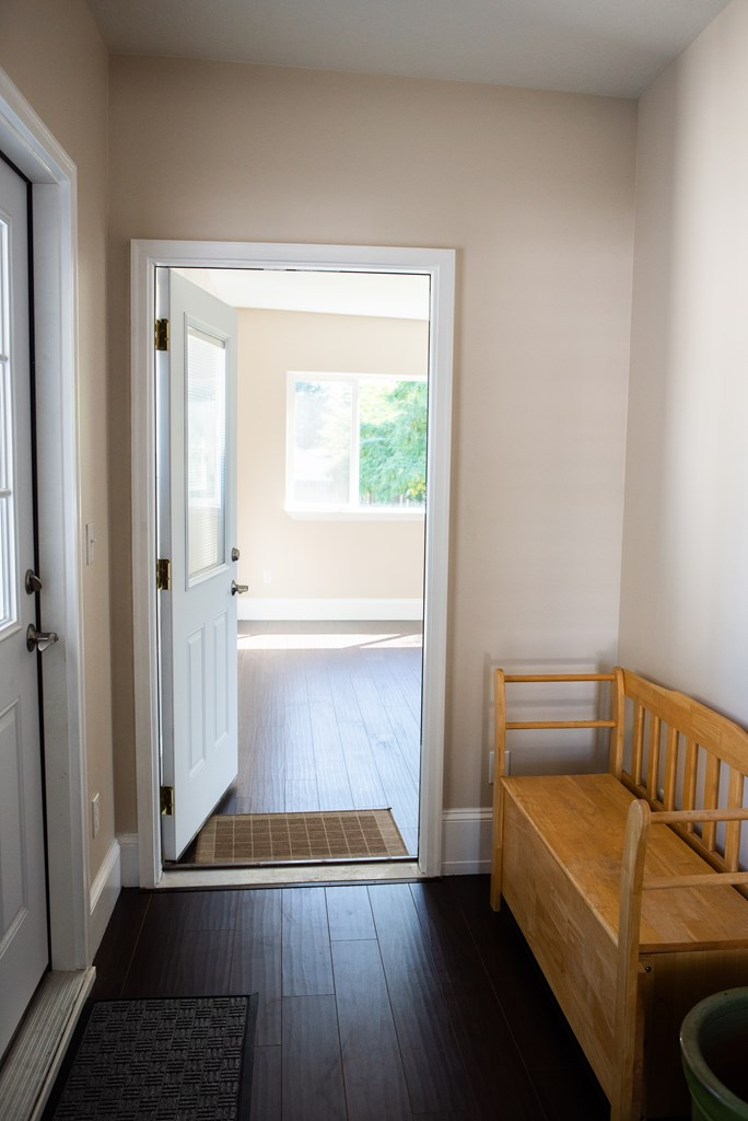 Entrance to Ensuite/Guest Space