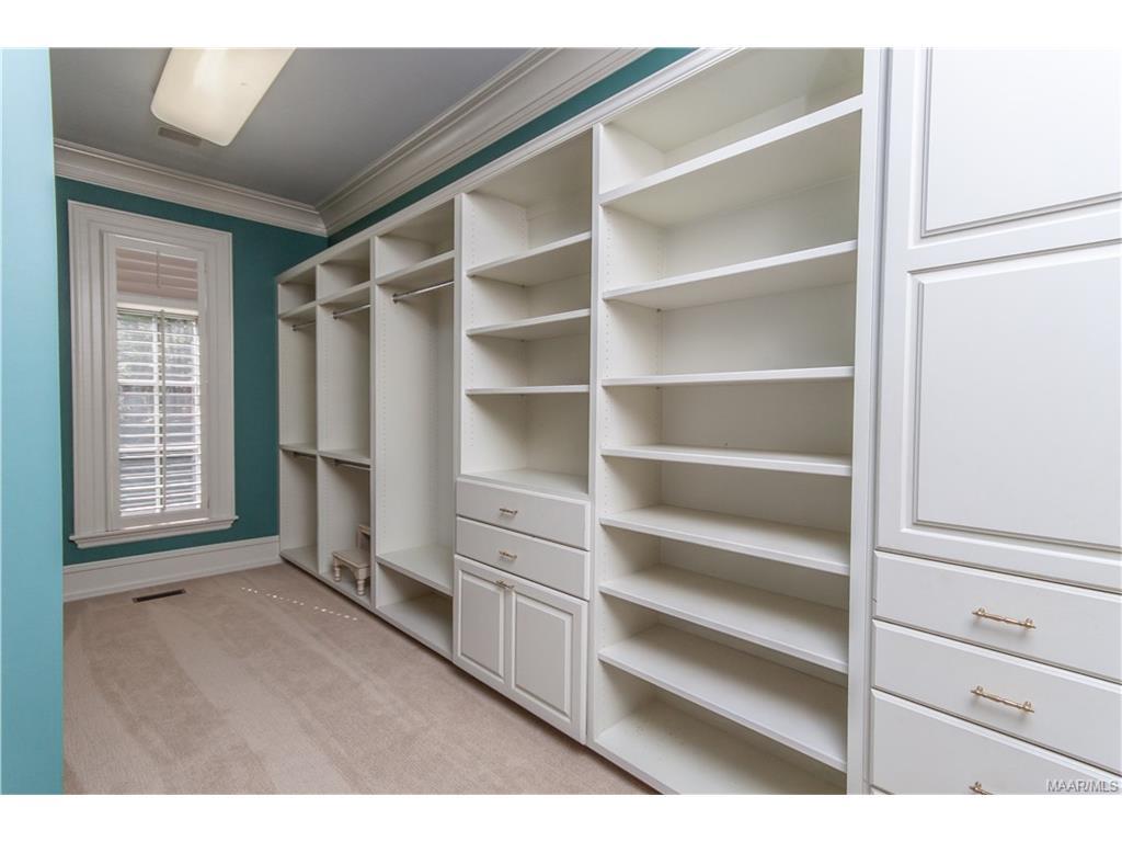 HALF or the Master Closet.