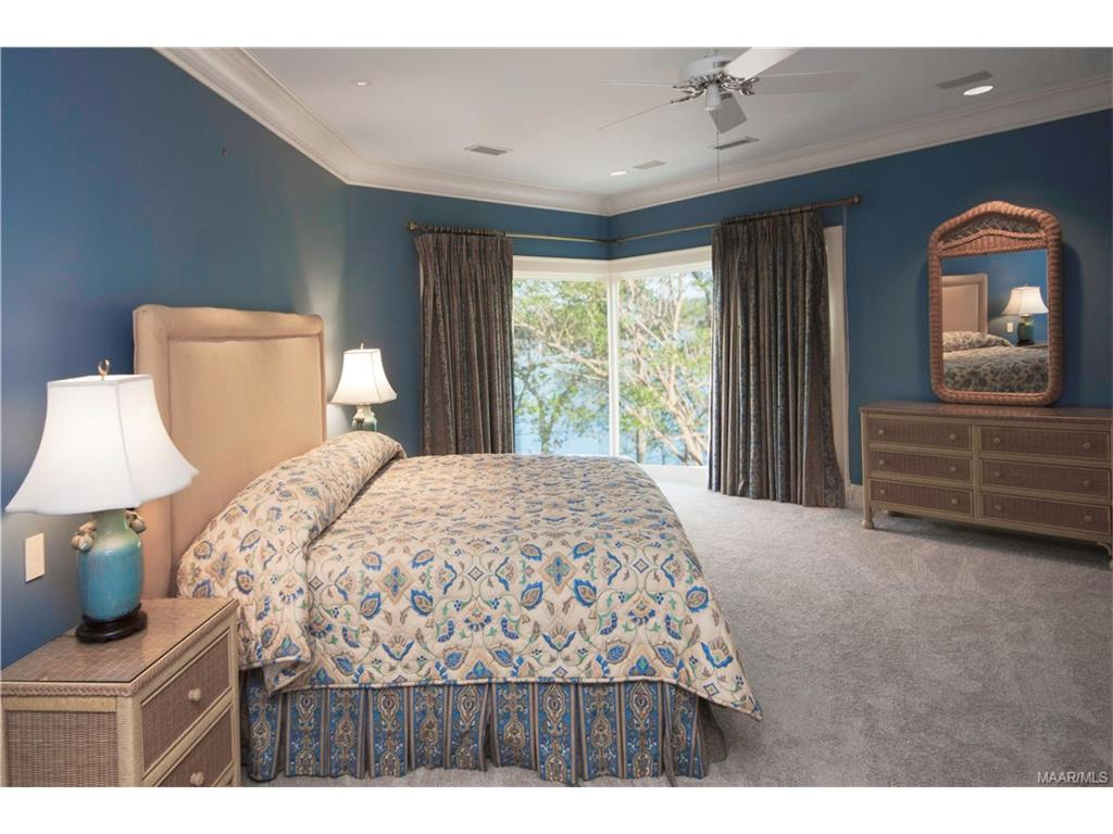 Upstairs Bedroom with Lake View.