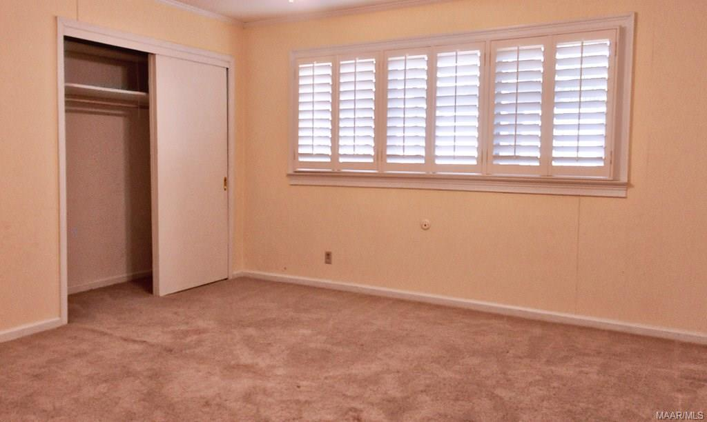 Bedrooms are spacious and light