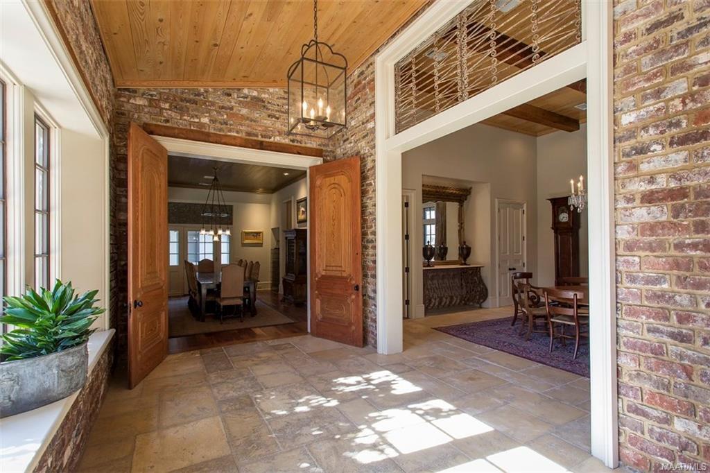 Antique Iron Transoms and 10ft Antique Oak Doors i