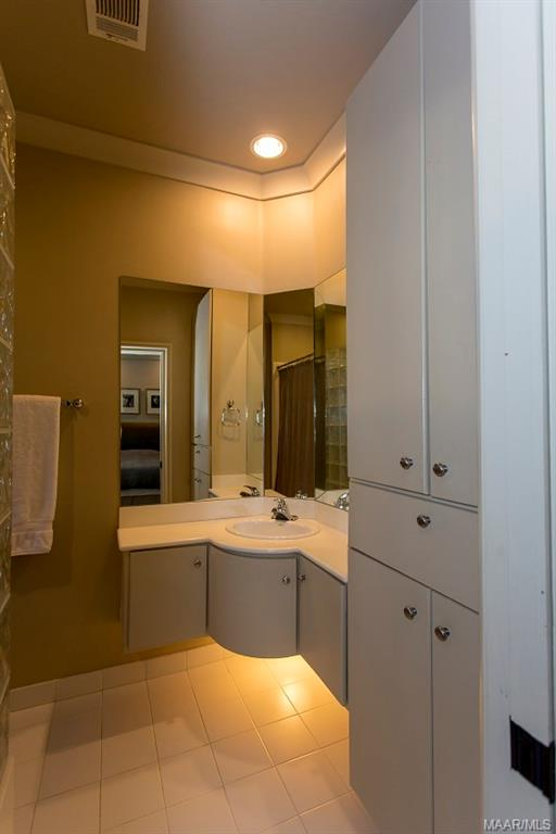 Two of Five Full Bathrooms