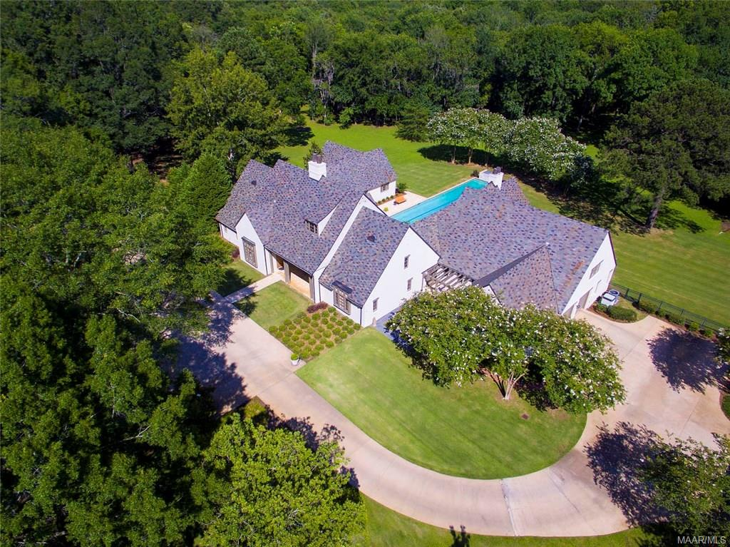 Estate features Mature Trees on approximately 5.4
