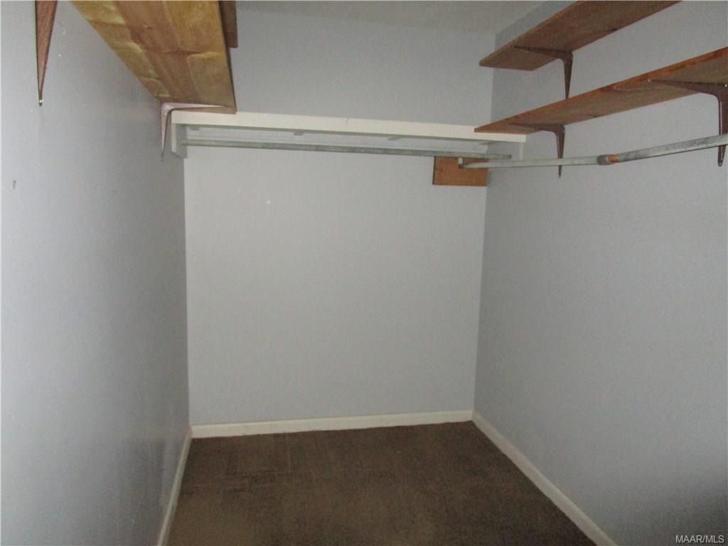 Walk-in closet upstairs