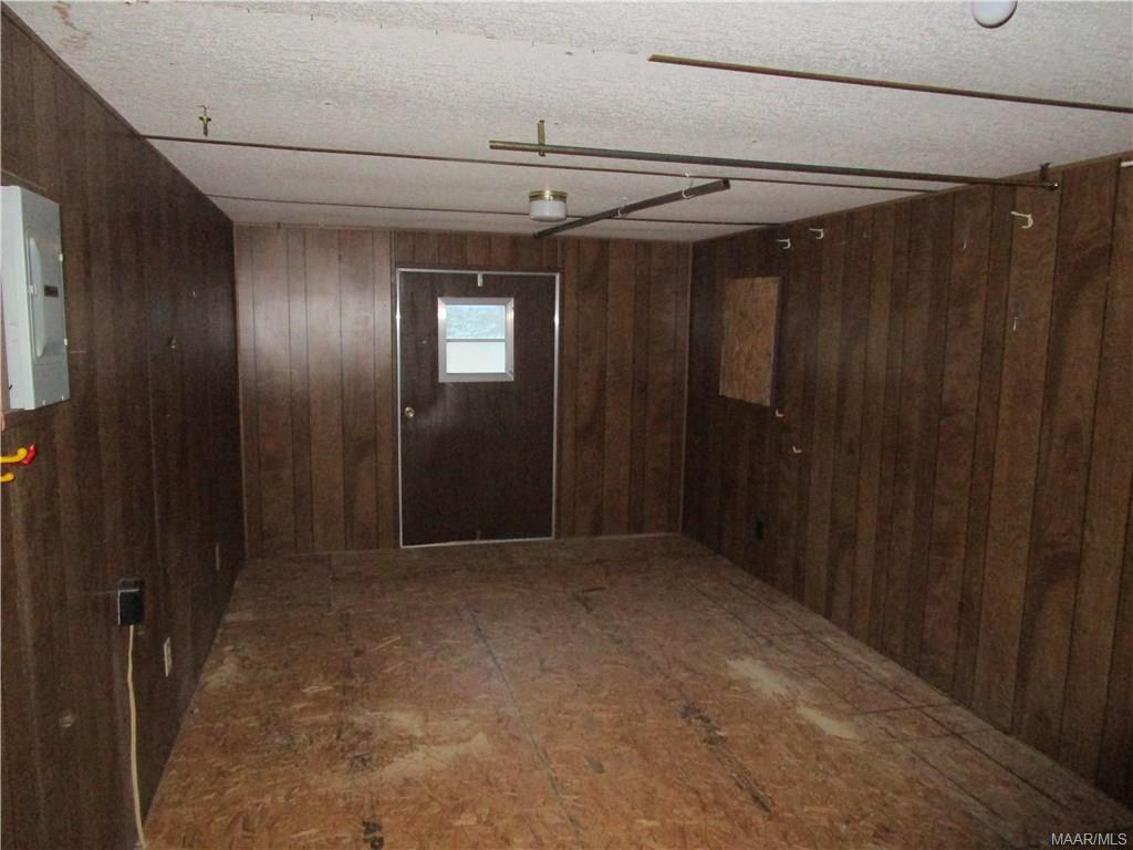 Storage room off kitchen