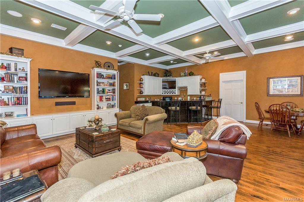 Upstairs bonus room offers amazing space and even