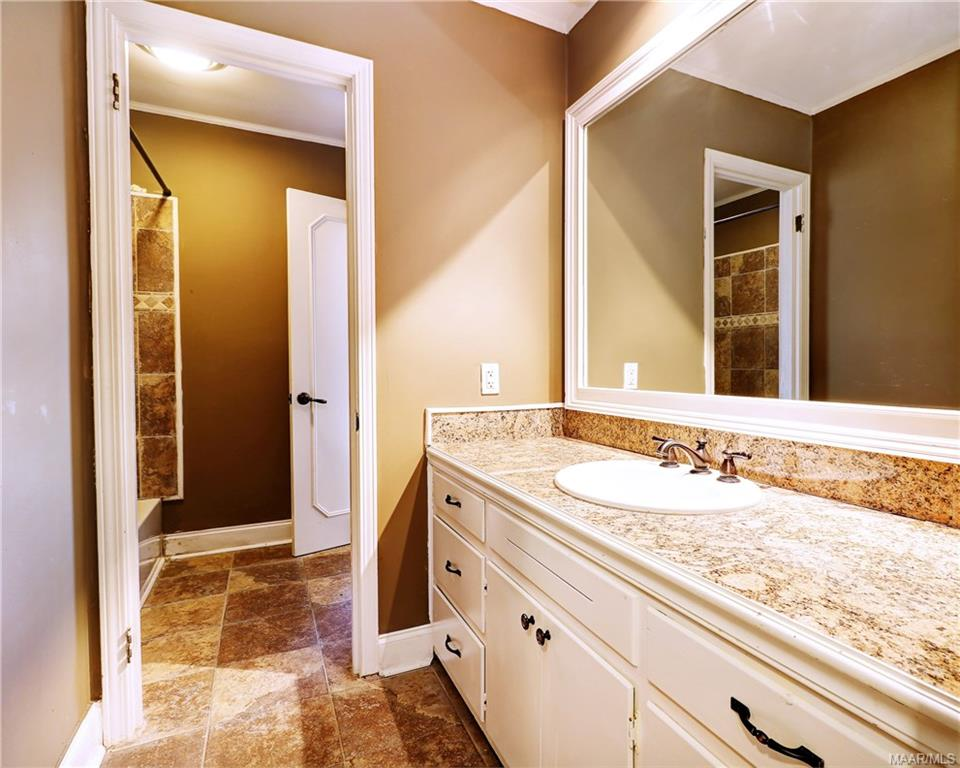 Updated hall bath