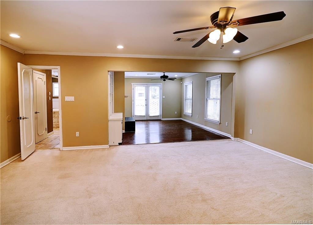 Beautiful main bedroom suite features updated ligh