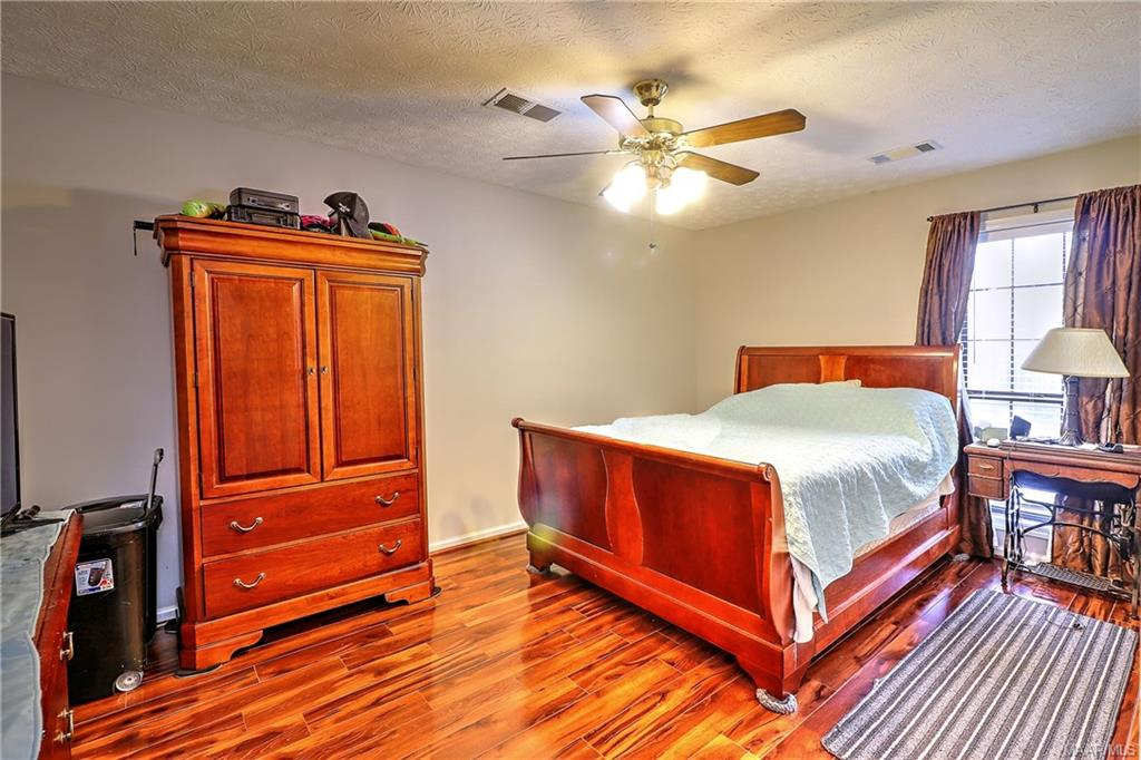 Main bedroom located in the back off kitchen