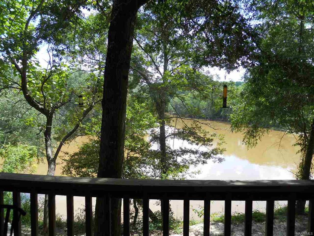 View of River from Main Cabin