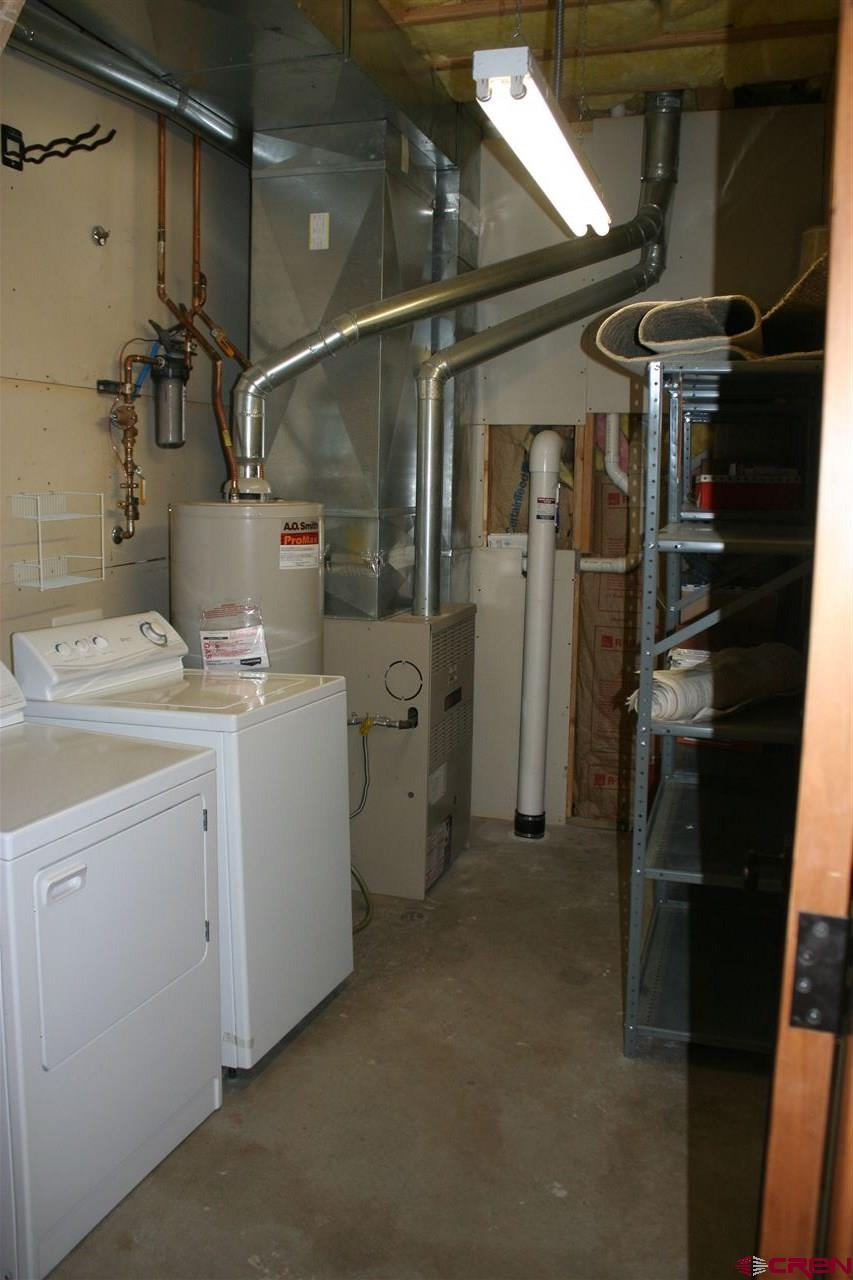Lower Level Laundry/Mechanical Room