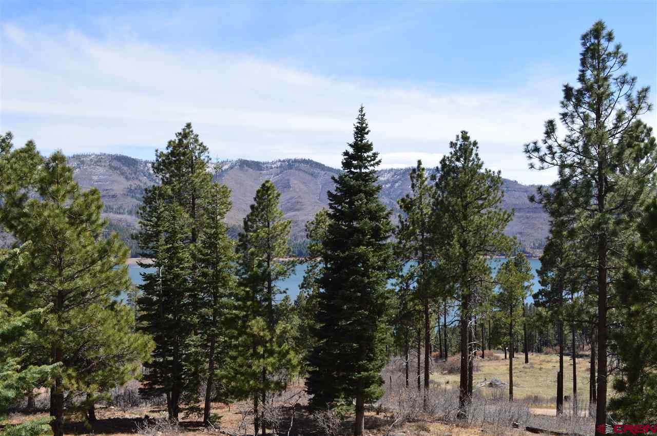 View of Vallecito Lake from front deck