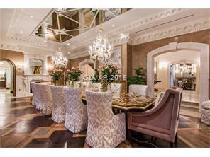 Venetian plaster with elegant wainscoting. Beautif