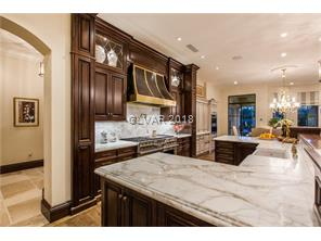 Exquisite Carrera Marble countertops and backsplas