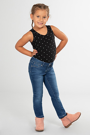 Toddler Girl Basic Denim Skinny Jean
