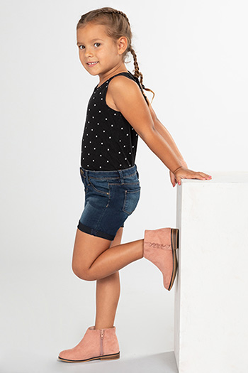Toddler Girl Denim Rolled Cuff Shorts