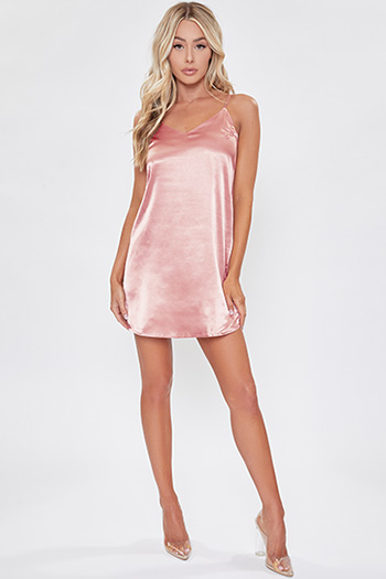Junior Classic Slip Dress