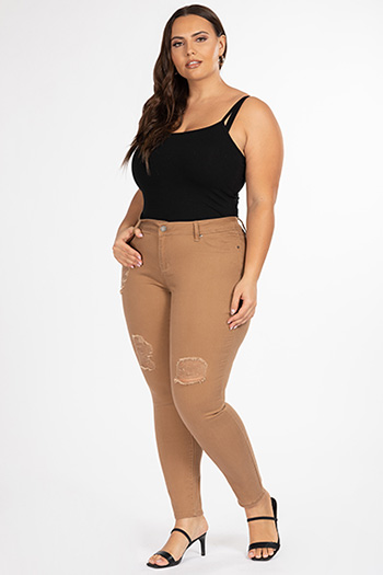 Junior Plus Size Super Soft Skinny Jean