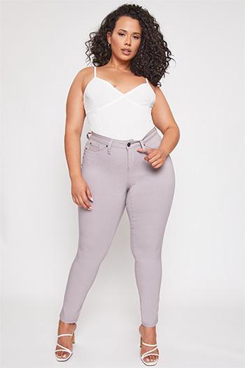 Junior Plus Size Hyperstretch Skinny Jean