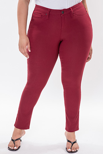 Junior Plus Size Hyperstretch Skinny Jean