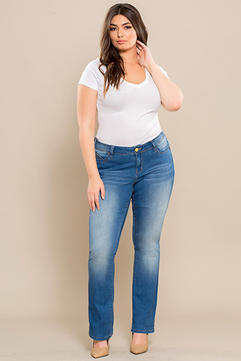 Junior Plus Size WannaBettaButt Bootcut