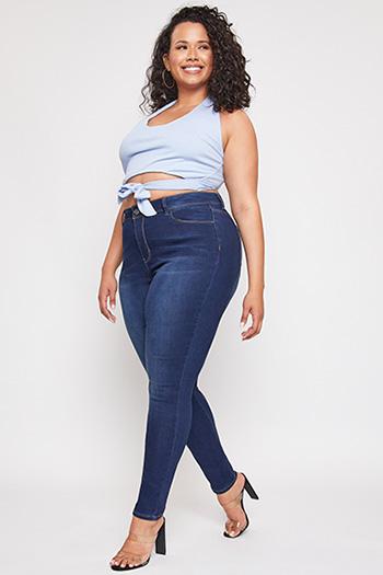 Junior Plus Size High-Rise Skinny Jean