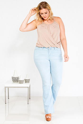 Junior Plus Size Super Soft Flare Jean
