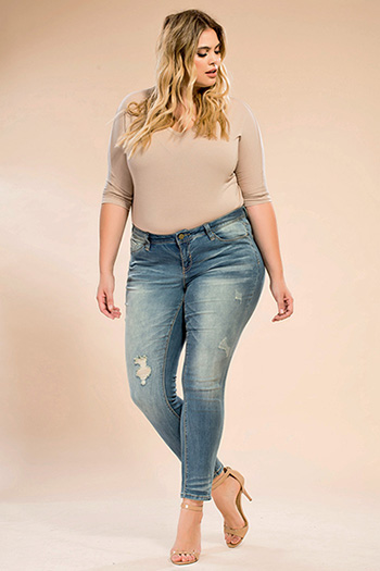 Juniors Plus Size Jeans - YMI Plus Size Jeans