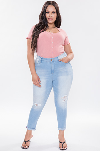 Junior Plus Size Hide Your Muffin Top High-Waist Ankle Jean
