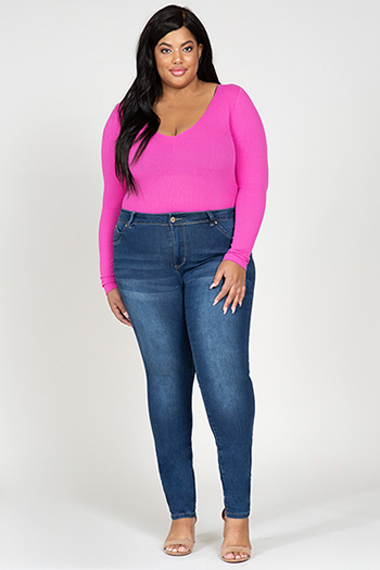 Junior Plus Size WannaBettaButt High-Rise Skinny Jeans