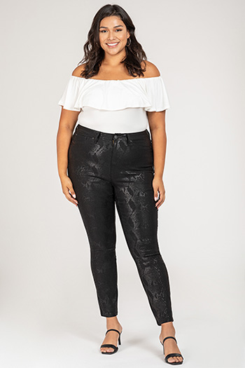 Junior Plus Size Hyperstretch High-Rise Skinny Jean