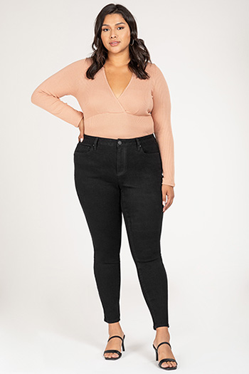 Junior Plus Size Vintage Dream High-Rise Skinny Jean