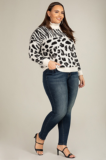 Junior Plus Size YMI Denim Collection High-Rise Skinny Jean