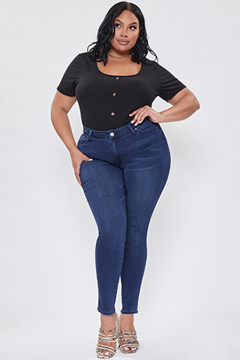 Junior Plus Size Hyper Denim Skinny Jean