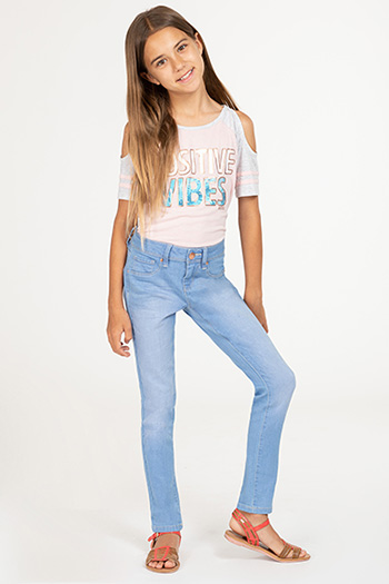 Kids Basic Denim Skinny Jean