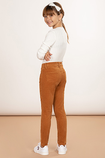 Girls Love 5 Pocket Corduroy Skinny Jean