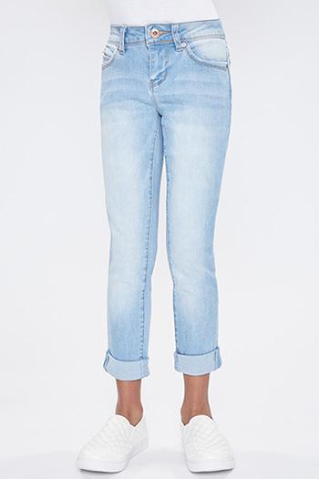 Girls WannaBettaFit Cuffed Skinny Jeans