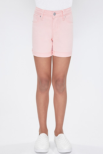 Girls Rolled Cuff Shorts