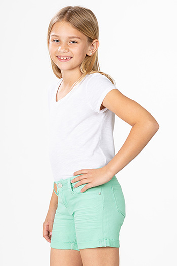 Kids Rolled Cuff Shorts