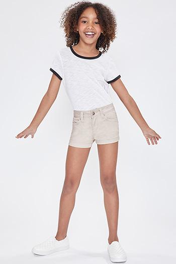 Kids WannaBettaFit Twill Shorts