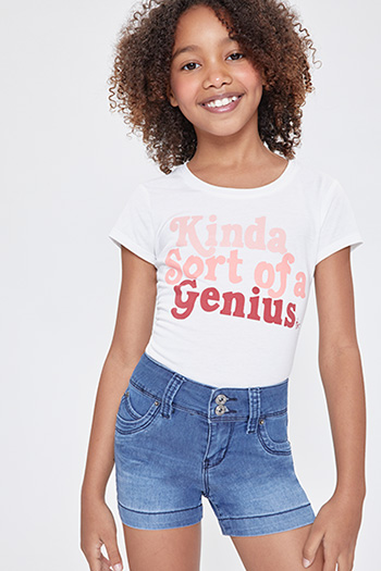 Kids WannaBettaFit 2-Button Shorts