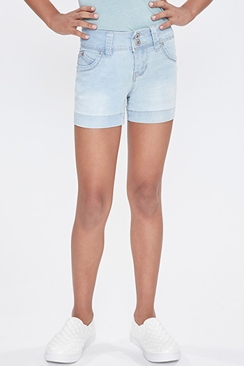 Kids WannaBettaFit 2-Button Shorts