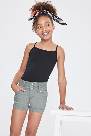 Kids WannaBettaFit 3-Button Shorts