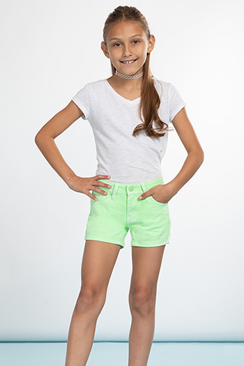 Girls Love Basic Neon Short