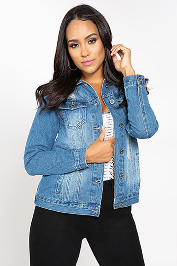 Junior Boyfriend Denim Jacket