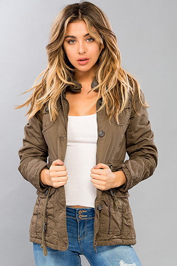 Junior Faux Fur Lined Parka Jacket