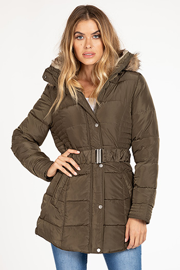 Junior Long Puffer Jacket