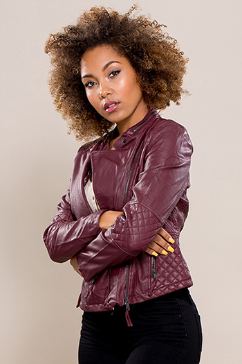 Junior Faux Leather Biker Jacket